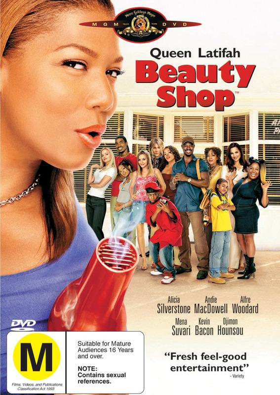 Beauty Shop on DVD