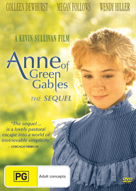 Anne of Green Gables: The Sequel on DVD
