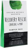 Organik Botanik Splotch - Recovery Rescue Pamper Pack (Charcoal & Mint)