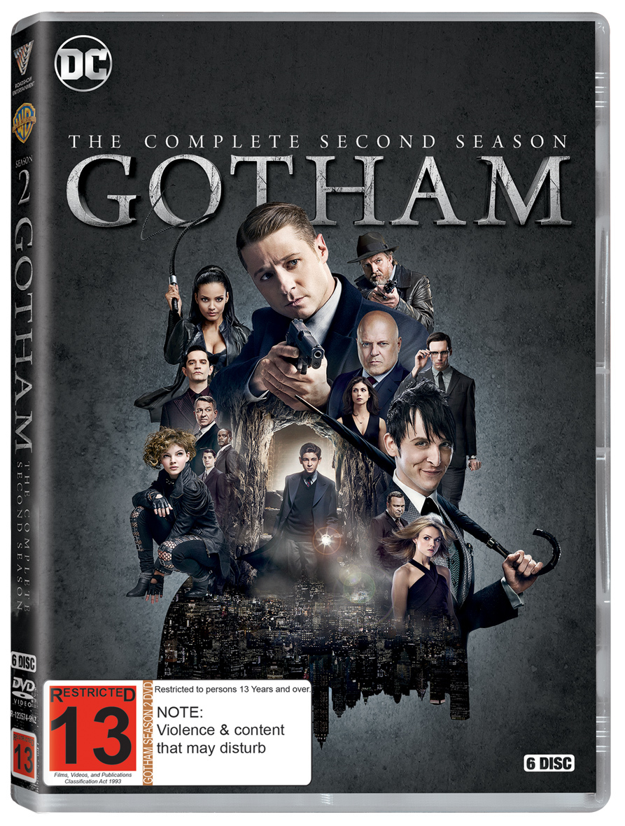 Gotham - The Complete Second Season on DVD image