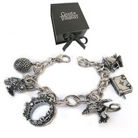 "Game of Thrones - Charm Bracelet (8"")"