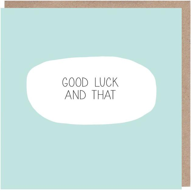 Colourblock: Good Luck and That Card