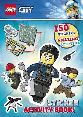 LEGO City: Sticker Activity Book by LEGO image