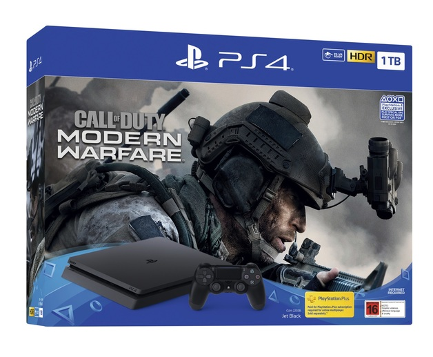 PS4 Slim 1TB Call of Duty Modern Warfare Bundle for PS4