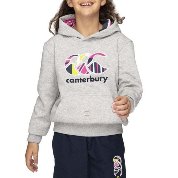 Canterbury: Girls Uglies Hoody - Classic Marl (Size 8)