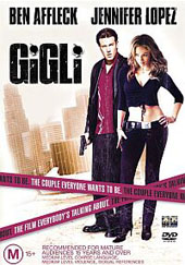 Gigli on DVD