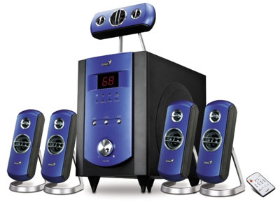 GENIUS GHT-V150 HOME THEATRE SYSTEM