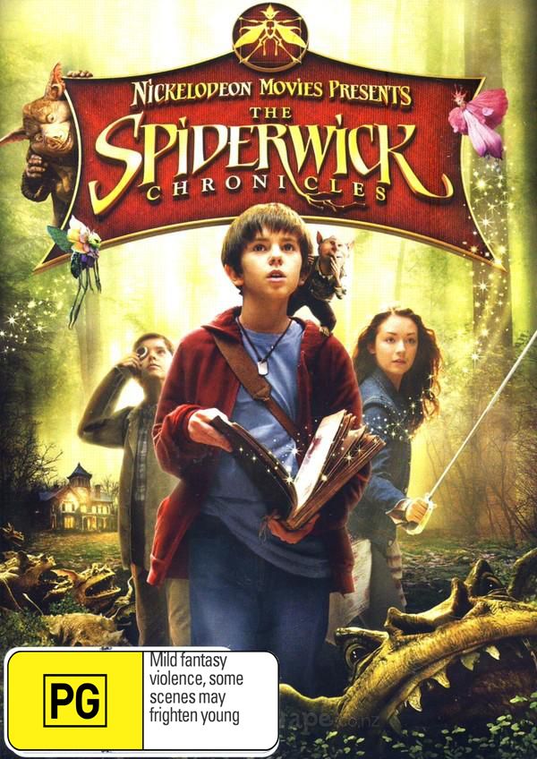 The Spiderwick Chronicles on DVD image