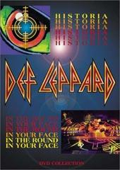 Def Leppard - Historia / In The Round, In Your Face on DVD
