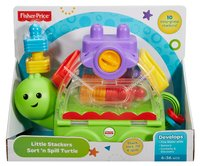Fisher-Price: Little Stackers Sort 'n Spill Turtle