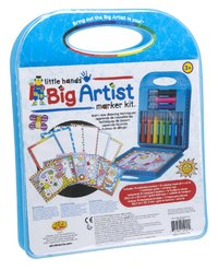 Alex: Little Hands - Big Artist Series Marker Kit image