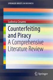 Counterfeiting and Piracy by Ludovica Cesareo