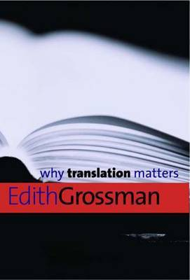 Why Translation Matters by Edith Grossman image