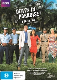 Death In Paradise - Series Six DVD