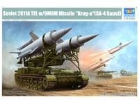 "Trumpeter - 1/35 Soviet 2K11A TEL with 9M8M Missile ""Krug-a"" (SA-4 Ganef) Model Kit"