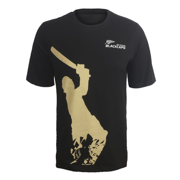 Blackcaps Screen Printed T Shirt - XL