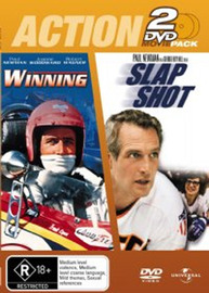 Winning / Slap Shot - Action 2 DVD Movie Pack (2 Disc Set) on DVD image