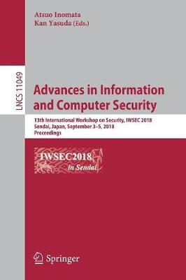 Advances in Information and Computer Security image
