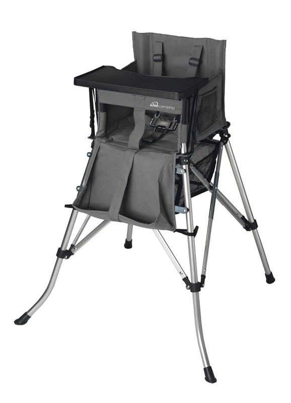 Kiwi Camping Tiny Tot Portable High Chair Baby with Dining Tray