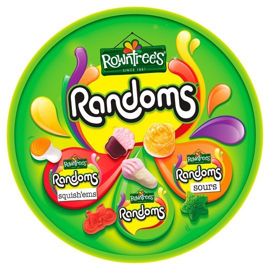 Rowntree Randoms Sharing Tub (690g)