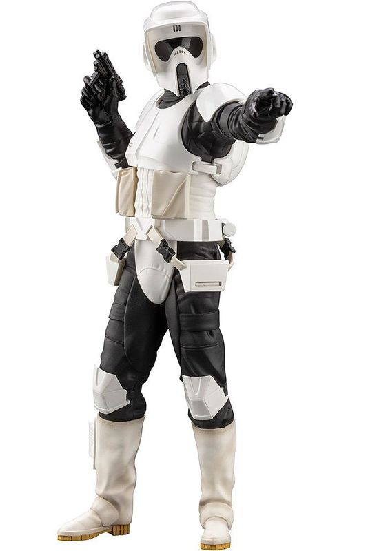 Star Wars: ARTFX+: 1/10 Scout Trooper - PVC Figure