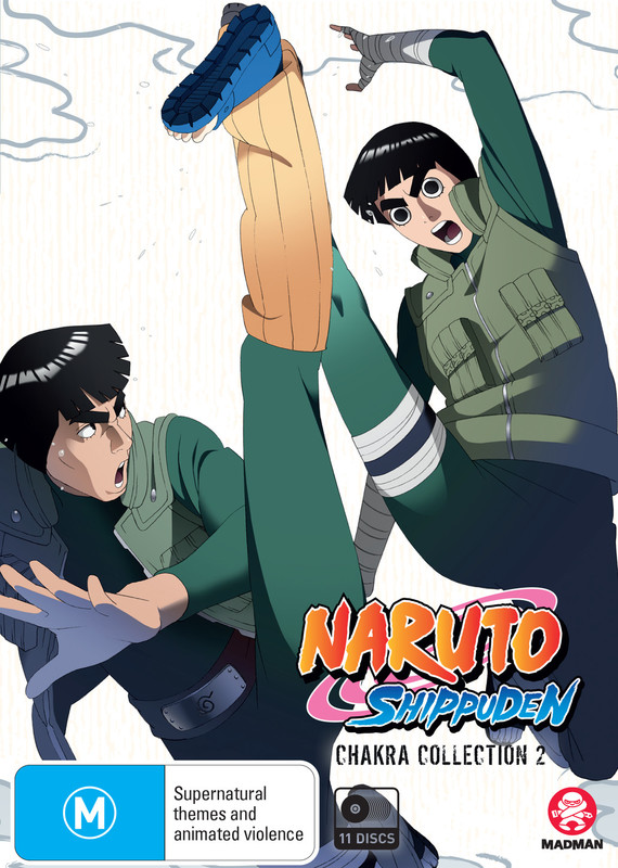 Naruto Shippuden Chakra - Collection 2 (Eps 72-140) on DVD