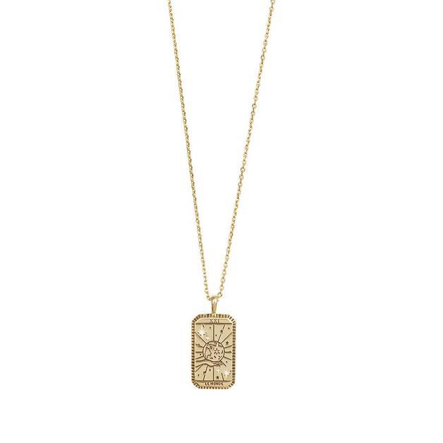 Wanderlust + Co: Le Monde Gold Necklace
