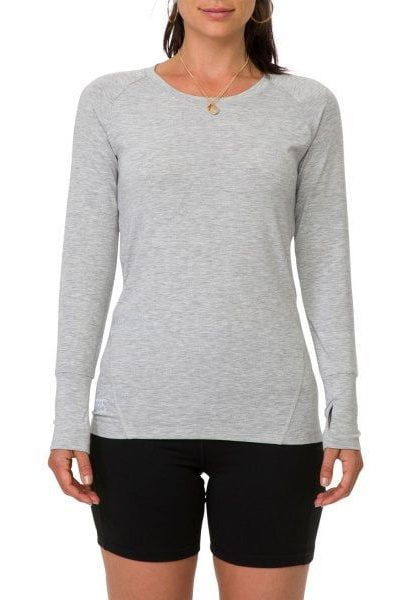 Canterbury: Womens Lucid L/S Tee - Classic Marl (Size 12)