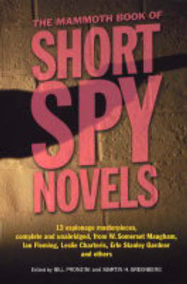 The Mammoth Book of Short Spy Novels image