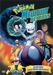 Pokemon: Mewtwo Returns (NTSC) on DVD