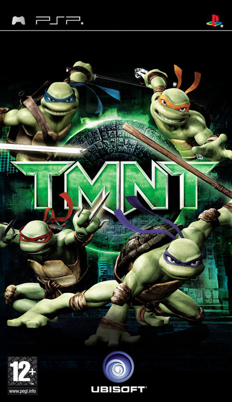 Teenage Mutant Ninja Turtles for PSP