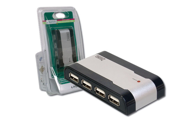 Digitus 4 Port USB 2.0 Powered Hub