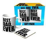 Best Dad Ever Mug and Coaster Gift Pack