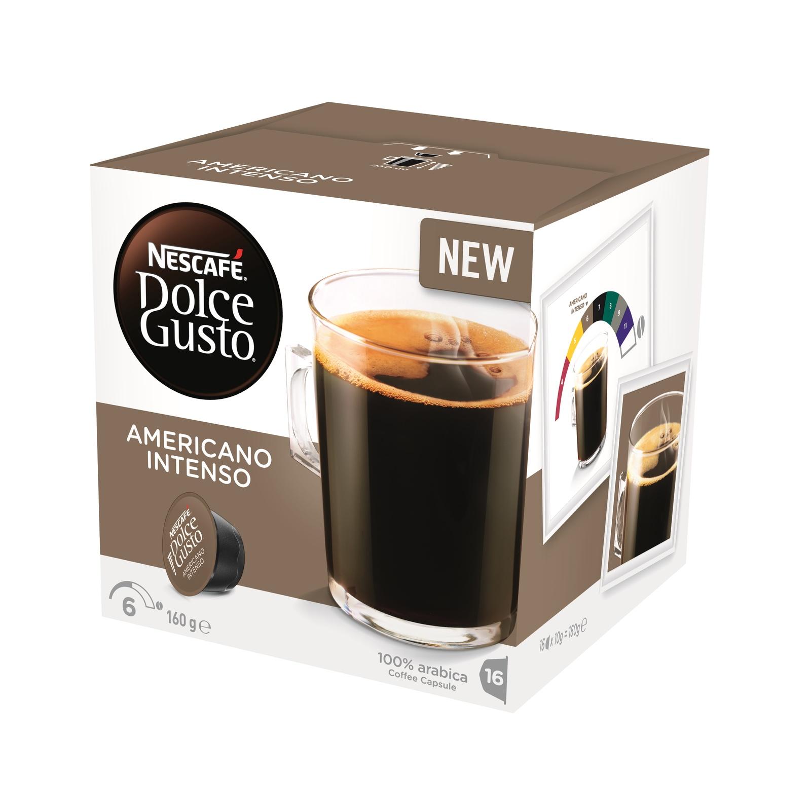 Nescafe Dolce Gusto (Americano Intenso, 16pk) image