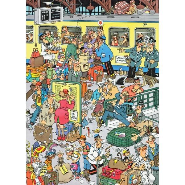 Van Haasteren: Platform Pandemonium - 1000 Piece Puzzle image