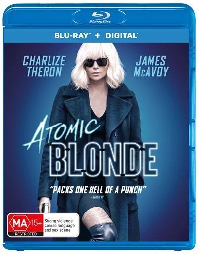 Atomic Blonde on Blu-ray