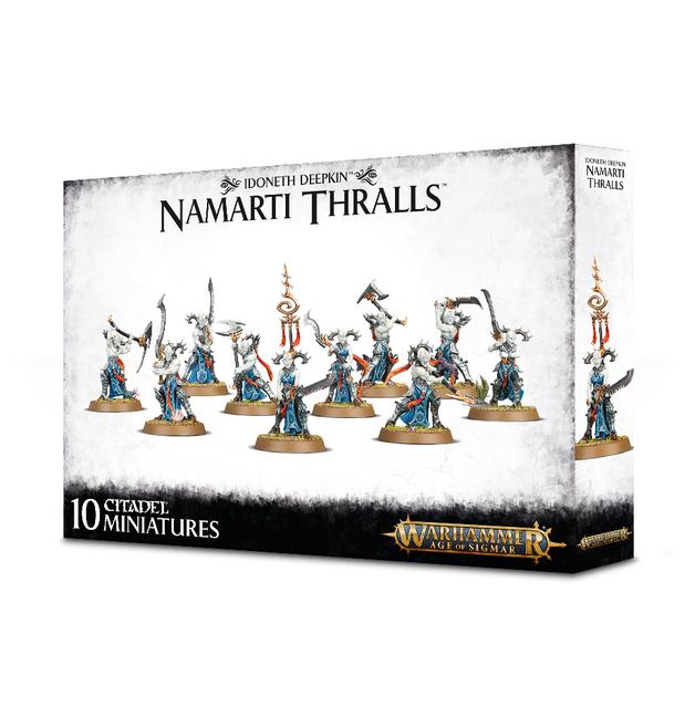 Warhammer Age of Sigmar Idoneth Deepkin: Namarti Thralls