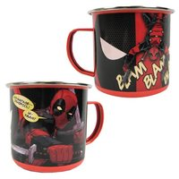 Marvel: Deadpool - Enamel Mug (12 oz.)