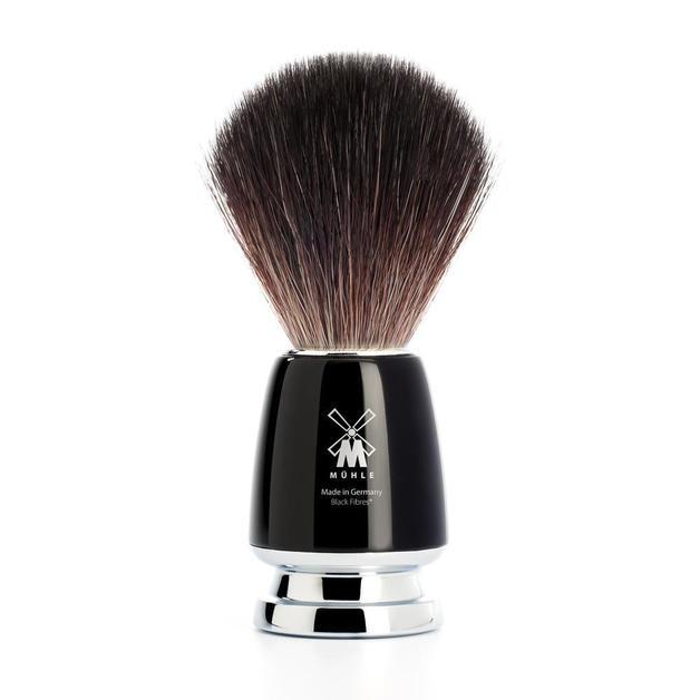 Muhle Black Fibre RYTMO Brush - Black Handle
