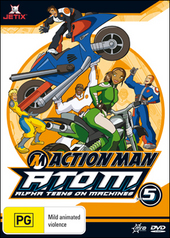 Action Man - A.T.O.M.: Alpha Teens On Machines - Vol. 5 on DVD