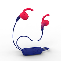 iFrogz: Sound Hub Tone Earbuds - Navy/Red