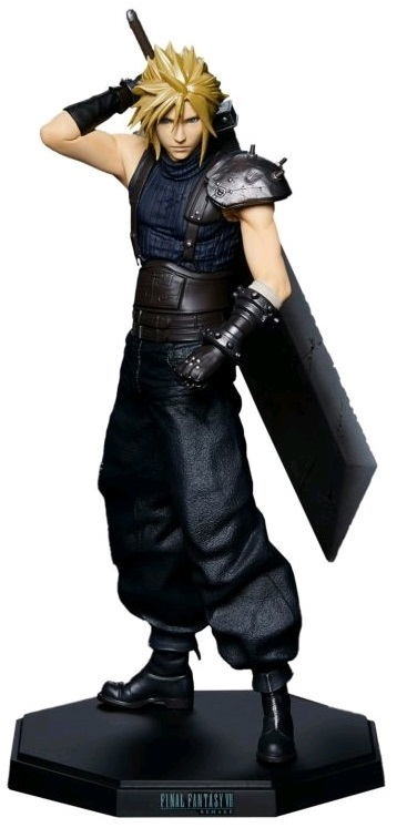 Final Fantasy VII Remake: Cloud Strife - Statuette