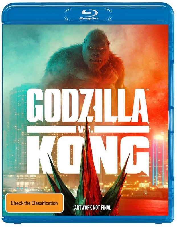 Godzilla vs. Kong on Blu-ray