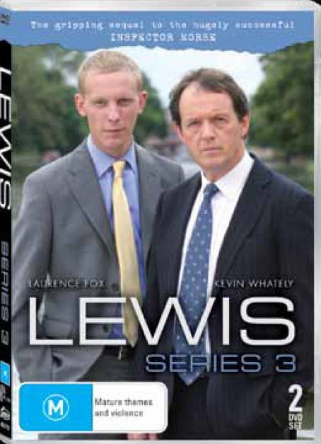 Lewis - Series 3 (2 Disc Set) DVD