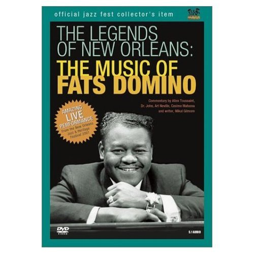 The Legends Of New Orleans - The Music of Fats Domino on DVD