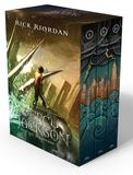 Percy Jackson Paperback Boxed Set (Books 1-3) by Rick Riordan