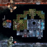 Star Wars: Imperial Assault: Trainning Ground Playmat