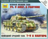 Zvezda 1/100 PZ.KPFW.V Panther