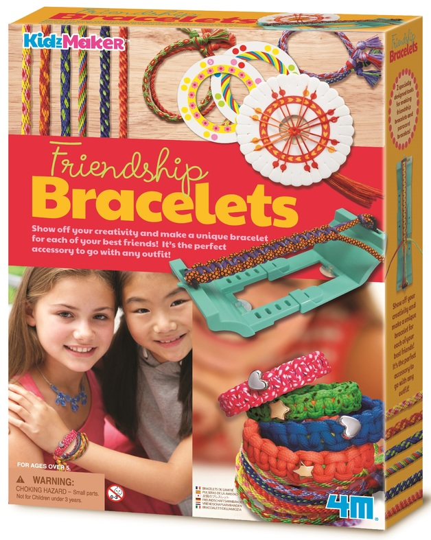 4M KidzMaker: Friendship Bracelets Fashion Kit