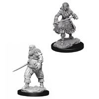 Wizkids Deep Cuts: Unpainted Miniatures - Pirates